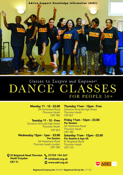 Dance Classes for People 50+