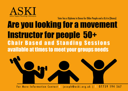 movement Instructor for people  50+